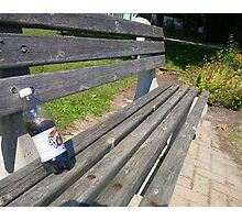 rootbeer bench Photographic Print