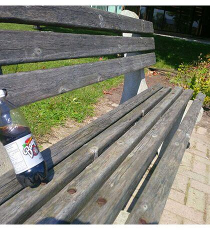 rootbeer bench Sticker