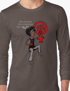 Juliette Feminist woman Long Sleeve T-Shirt