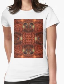 Five Way Temples Womens Fitted T-Shirt