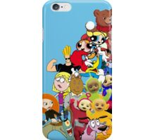 90s Cartoon Charecters iPhone Case/Skin