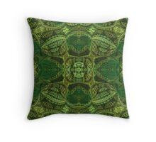 Five Way Jade Temples Throw Pillow