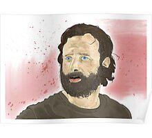 Rick Grimey Grimes The Walking Dead  Poster