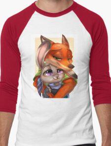 Zootopia - Nick x Judy Men's Baseball ¾ T-Shirt