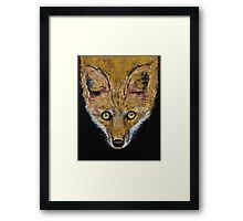 Clever Fox Framed Print
