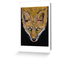 Clever Fox Greeting Card