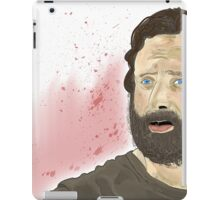 Rick Grimey Grimes The Walking Dead  iPad Case/Skin