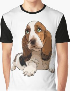 Basset Hound Graphic T-Shirt