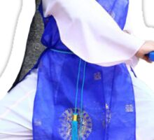Jimin Wearing a Hanbok Sticker