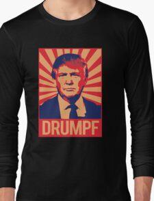 Donald Drumpf Propaganda Long Sleeve T-Shirt