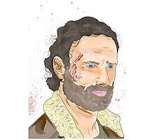 Rick Grimes, The Walking Dead Photographic Print