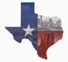 Texas Flag Kids Tee
