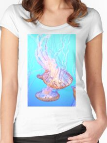 Sea Nettles Women's Fitted Scoop T-Shirt