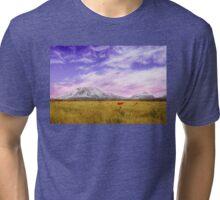 Field of poppies Tri-blend T-Shirt