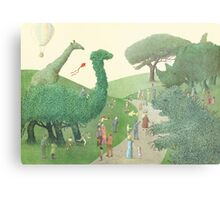 The Night Gardener - Summer Park  Metal Print