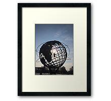 Unisphere Framed Print