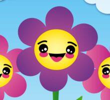 Cute Flowers Sticker