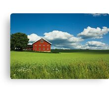 Stange neighbourhood Canvas Print