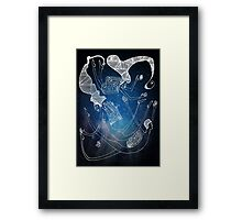 Books can give you wings Framed Print