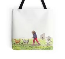 Chicken Chaser Tote Bag