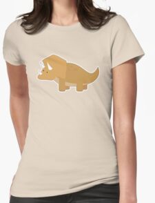 Dinosaur1 Womens Fitted T-Shirt