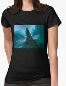 Stone Monolith Womens Fitted T-Shirt