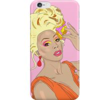 RuPaul, We're All Born Naked and The Rest is Drag iPhone Case/Skin