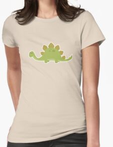 Dinosaur2 Womens Fitted T-Shirt