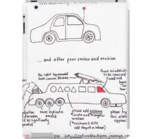 Your Manuscript On Peer Review iPad Case/Skin