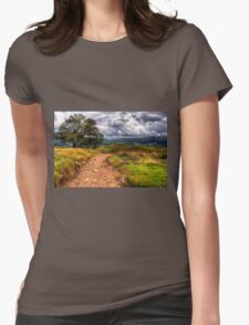 Autumn in Lake District Womens Fitted T-Shirt