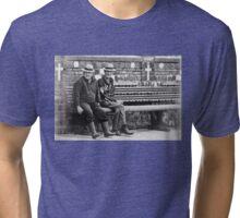 Old folks Tri-blend T-Shirt