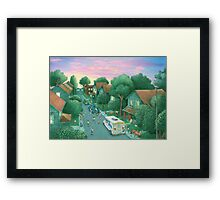 Grimloch Lane - Sunset  Framed Print