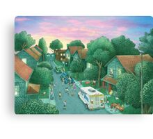 Grimloch Lane - Sunset  Canvas Print