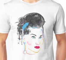 Watercolour Michelle Visage Unisex T-Shirt