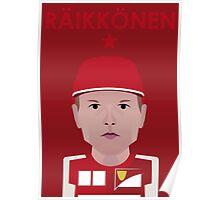Kimi Raikkonen 2016 Poster