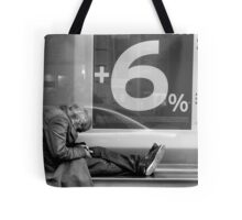 6% of Nothing Tote Bag