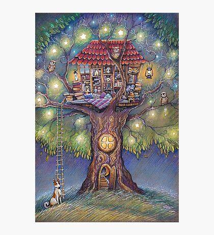 Tree House Photographic Print