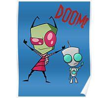 Invader Zim & Gir Doom! Poster