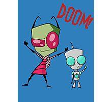 Invader Zim & Gir Doom! Photographic Print