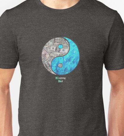 Breaking Ying Yang Unisex T-Shirt