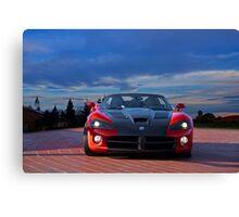 Dodge Viper 'Mano a Mano' Canvas Print