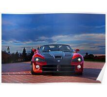 Dodge Viper 'Mano a Mano' Poster