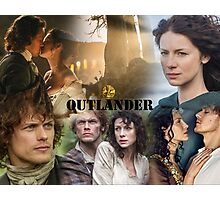 Outlander Collage Photographic Print