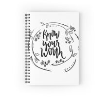 Worthy Spiral Notebook