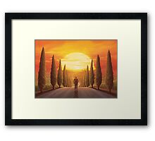 The Fight is All (Only 50!) Framed Print