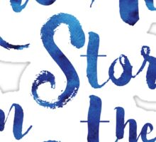 Doctor Who - We are all Stories In The End Sticker