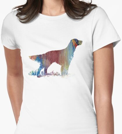 English setter  Womens Fitted T-Shirt