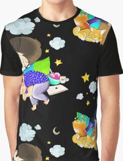 sleeping dan and phil Graphic T-Shirt