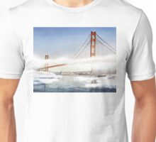 San Francisco Fog - Golden Gate Bridge Unisex T-Shirt