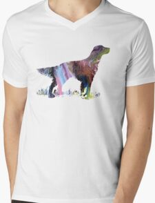 English setter  Mens V-Neck T-Shirt